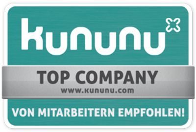 kununu- TOP Company - Employer seal of approval