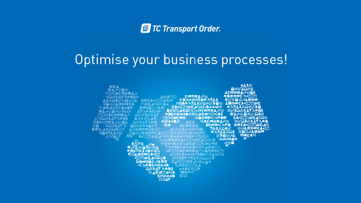 This is how digital order handling works with TC Transport Order®: